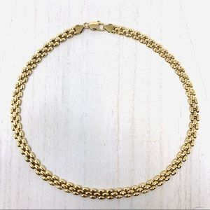 🆕 looks real! Sterling/gold panthère link nklc